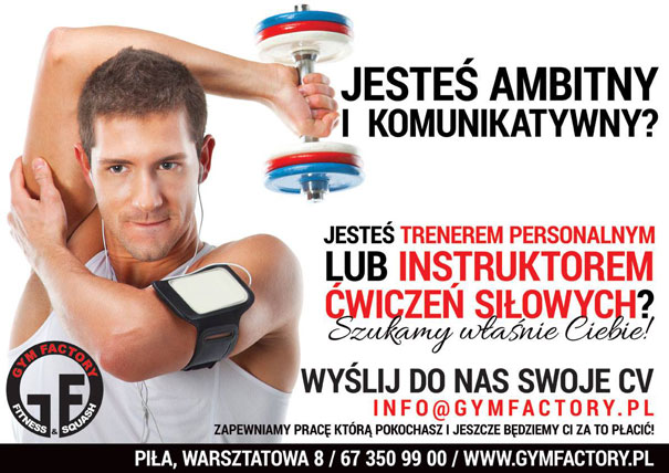 Dołącz do Gym Factory