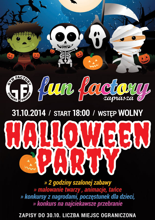 Halloween PARTY 4 kids
